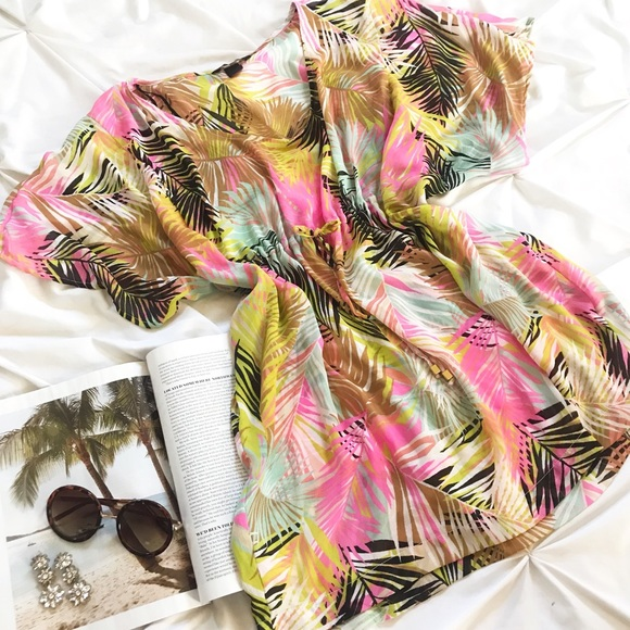 H&M Other - Palm Pool Tunic